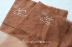 Vintage seamed stockings Hanes www.buckinghamvintage.co.uk